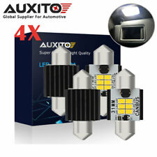 4x AUXITO 30/31MM Canbus Festoon LED Dome Map Interior Light Bulb DE3175 3022