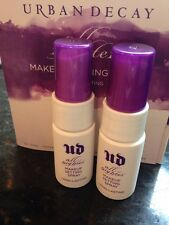 Urban Decay All Nighter Makeup Setting Spray 0.5 oz / 15 ml Travel Size lot x2