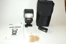 Nikon Speedlight SB-800 shoe mount flash w/ Many Accessories near mint *