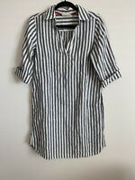 Soft Surroundings Size S or XS Women Gray Casual Dress Two Front Pockets