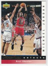 1992-93 UPPER DECK BASKETBALL JERRY WEST SELECTS INSERT MICHAEL JORDAN  YOU PICK