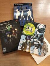 Shin Megami Tensei: Persona 3 Limited Edition (Sony PlayStation 2, NTSC, US)