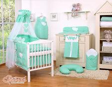 My sweet Baby Lit pour bébé (set complet) set XL de 13 pièces +choix couleurs