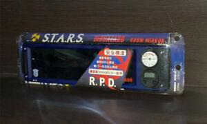 BIOHAZARD Japan Promo RPD STARS Room Car Mirror Clock Resident Evil Chris Jill