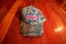NEW Vintage LL Bean Predator Camo L.L. Supreme Camouflage Cap Hat USA Hunting
