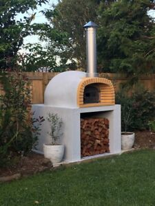 *100% ITALIAN Made Pizza oven Outdoor wood fired Oven DIY kit (Extra Large) - Br