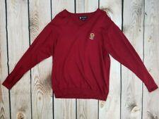 Oxford Golf Medium USGA Member Maroon V Neck Sweater