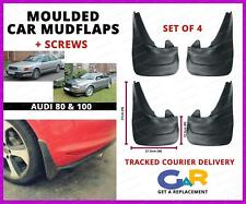 Rubbert Car Mud Flaps Splash guards set of 4 front and rear for Audi 80 , 100