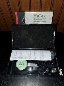 "Mahr Federal Martest 801S1 Dial Test Indicator .001"" Grad ,± 0.015"", Range"