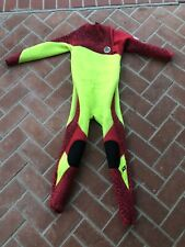 Rip Curl Youth 16 Flash Bomb Pro 3/2mm Zipperless Wetsuit Red/Green- Stretch