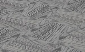 "CHILEWICH PLYNYL TILES Woodgrain Dogwood 18"" X 18"" - No Adhesive Residue"