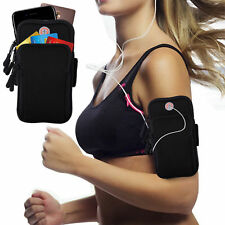 Sport Armband Running Jogging Gym Arm Band Pouch Holder Bag For Cell Phone UK