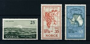 NORWAY . 1957 Intl. Geophysical Year (355-57) - Mint Never Hinged