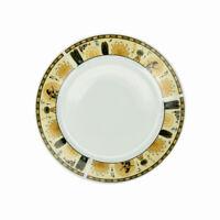 6 Pièces Assiettes Plate à Dessert En Porcelaine 19cm Ronde Blanc DUO Pharaon