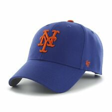 huge discount dc18a 5c9ea New York Mets 47 Brand MVP Strap Clean Adjustable On Field Blue Hat Cap MLB