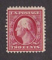 United States stamp #332, MHOG,