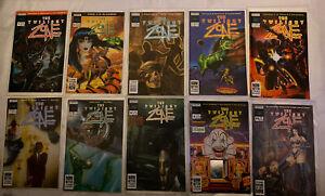 1991 The TWILIGHT ZONE Now Comics LOT Vol 2 #1 2 3 4 5 6 8 9 11 & 3-D Winter 1