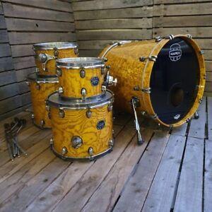 Drum Kit Shell Pack Mapex Saturn Exotic, Natural USED! RKSAT191021