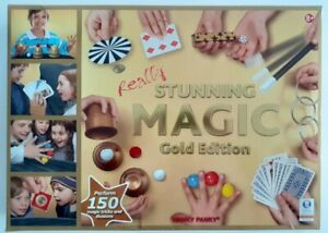 Really Stunning Magic Gold Edition 150 Tricks Illusions Instructions
