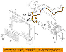 AUDI OEM 09-13 A3 2.0L-L4 A/C Condenser Compressor Line-AC Hose 1K0820741CN