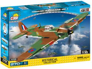 COBI Hawker Hurricane MK. 1 Fighter Plane SET# 5709 (270 Pcs.) US SELLER, RAF