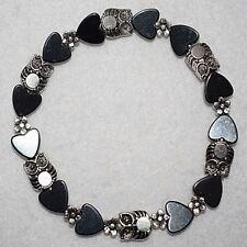 Magnetic Hematite Hearts Baby Owl Daisy Flower Stylish Bracelet Xmas Birthday