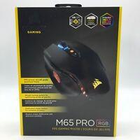 Corsair Gaming M65 Pro RGB FPS Gaming Mouse Backlit RGB LED 12000 DPI Optical