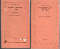 1978 - Einaudi - 2 volumi - TASSO, TORQUATO.LETTERE