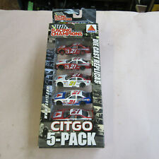 Nascar 2000 Racing Champions Die Cast CITGO 5 Car Pack 21 SuperGard   NEW