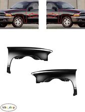 FOR DODGE DAKOTA 1997 - 2005 NEW FRONT WINGS FENDERS PAIR LEFT + RIGHT