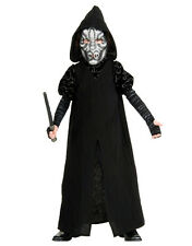 """Death Eater Robe Kids Outfit Style 2, Large, Age 8 - 10, HEIGHT 4' 8"""" - 5'"""