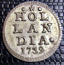 HOLLANDE 1 STUIVER 1739 SUPERBE