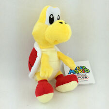 Red Koopa Troopa Super Mario Bros Plush Toy Enemy Character Stuffed Animal 6""