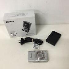 Canon IXUS 185 20.0 Megapixel Compact Digital Camera Silver #454