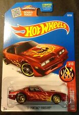2016 Hot Wheels CUSTOM Super 77 Pontiac Firebird with Real Riders