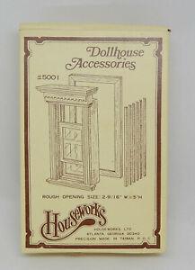 Vtg Houseworks 5001 Yorktown Double Hung Working Window Dollhouse Miniature 1:12