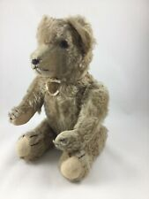 Vintage/Antique Mohair 12 inch Jointed Head,Arms,Legs Glass Eyes Teddy Bear