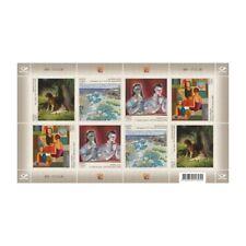 Stamp sheet of ESTONIA 2018 - Classics of Estonian painting / 695-12.11.18