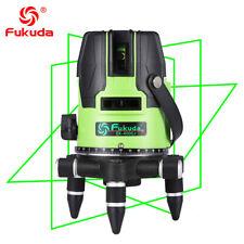 NEW Fukuda Brand 5 Lines 400GJ Laser Level 360 Self-Leveling Cross laser
