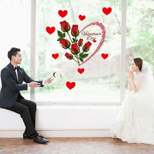 Valentine's Day Wall Sticker Decal Mural Art Vinyl Removable Wallpaper Home Dec