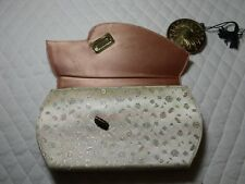 VINTAGE  ZELL FIFTH AVENUE CARRYALL CLUTCH COMPACT LIPSTICK PURSE