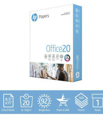 HP Printer Paper Home Office Copy Print Letter Office20 500 Sheets 8.5x11 20lb