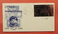 1971 RAS AL KHAIMA FDC SPACE ACCOMPLISHMENTS SILVER FOIL  196027