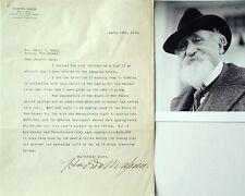 Hudson Maxim Inventor Smokeless Gunpowder & Explosives Signed Typed Letter [Tls]