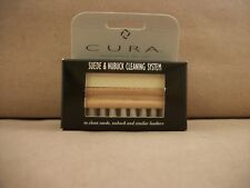 New in Box Cura Suede And Nubuck Cleaning System - Made in USA for Woodlore
