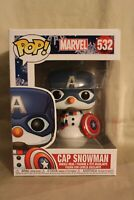 Funko - POP Marvel: Holiday - Capt America Brand New In Box
