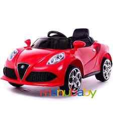 ALFA ROMEO 4C: auto elettrica bimbi 12V - macchina per bambini con radiocomando