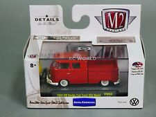 1/64 M2 Machines VW 1959 Double Cab Truck Volkswagen Bus Truck USA Model  #n2