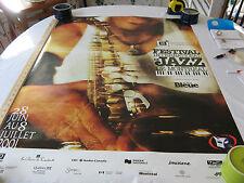 "Montreal International Jazz Festival July 2001 Poster 20th Anniversary - 38""x27"""