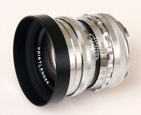 Voigtlander USA WARRANTY 50mm f/1.5   Leica M CHROME FREE NEXT DAY USA